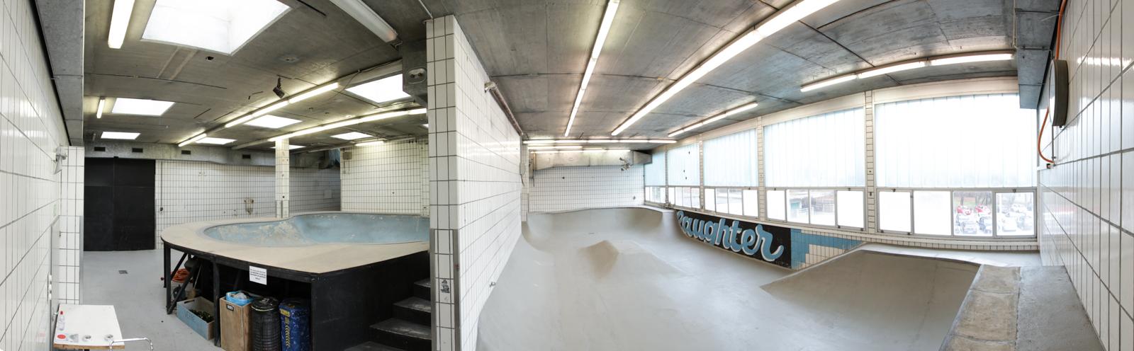 DIY Skatepark Les Abattoirs